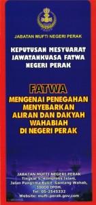 fatwa mufti negeri perak
