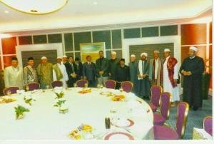 Prabowo dengan para ulama manca negara jauh sebelum pencapresan