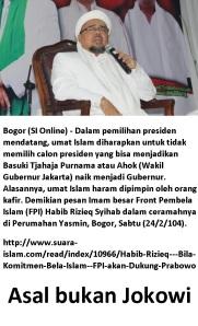 asal bukan Jokowi