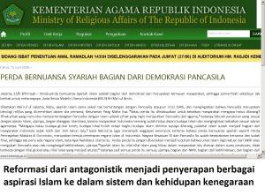 perda bernuansa syariah Islam