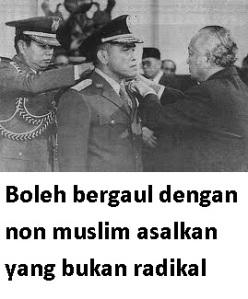 non muslim radikal
