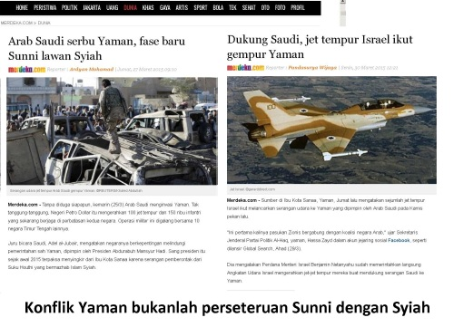 konflik yaman bukanlah konflik sunni vs syiah