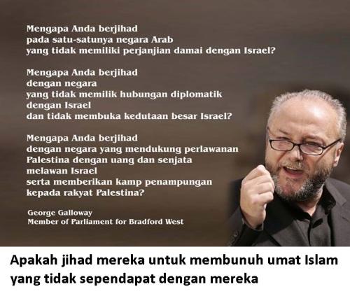 Jihad di jalan zionis