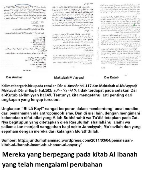 Al Ibanah telah berubah