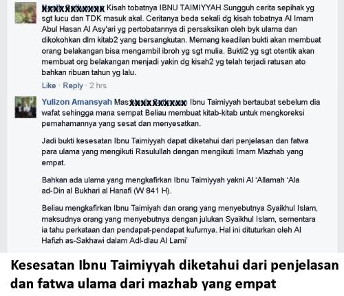 Kesesatan Ibnu Taimiyyah