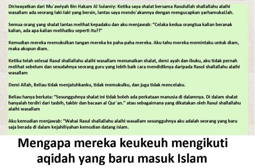 baru masuk Islam