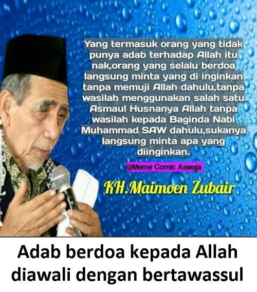 berdoa dengan adab