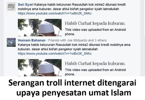serangan troll internet