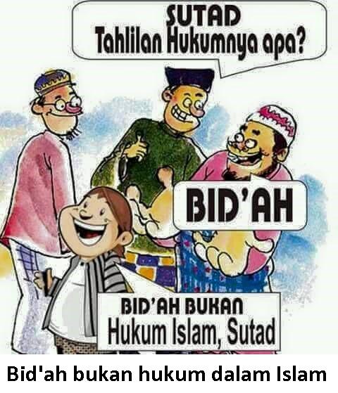 bidah bukan hukum dalam islam