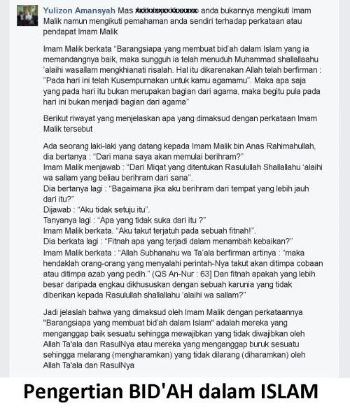 Bidah dalam Islam