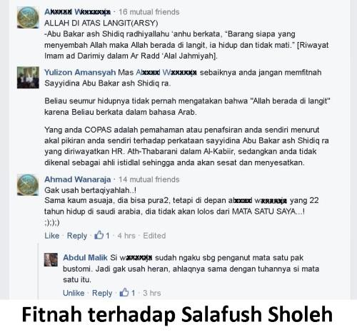 Fitnah terhadap Salafush Sholeh
