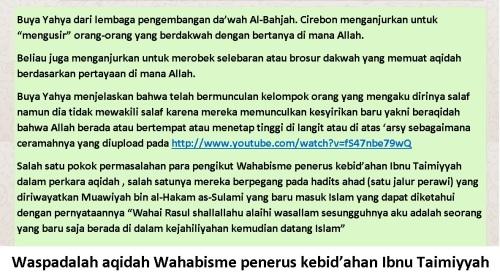 Waspada aqidah Wahabisme